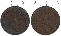 Изображение Монеты Гаити 1 сантим 1895 Бронза XF
