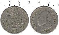 Изображение Монеты Гаити 50 сантим 1907 Медно-никель VF