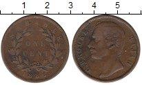 Изображение Монеты Малайзия Саравак 1 цент 1886 Медь VF