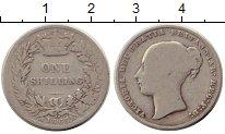 Изображение Монеты Великобритания 1 шиллинг 1865 Серебро VF