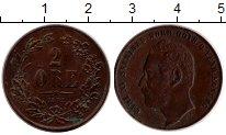 Изображение Монеты Швеция 2 эре 1872 Бронза XF+