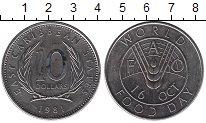 Изображение Монеты Великобритания Карибы 10 долларов 1981 Медно-никель UNC-