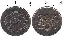 Изображение Монеты Йемен 25 филс 1974 Медно-никель UNC-