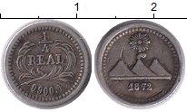 Изображение Монеты Гватемала 1/4 реала 1872 Серебро XF