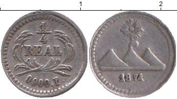 Картинка Монеты Гватемала 1/4 реала Серебро 1874