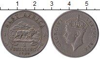 Изображение Монеты Великобритания Восточная Африка 1 шиллинг 1949 Медно-никель XF