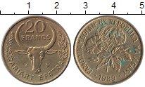 Изображение Монеты Мадагаскар 20 франков 1989 Латунь XF
