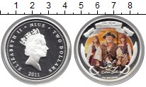 Изображение Монеты Новая Зеландия Ниуэ 2 доллара 2011 Серебро Proof