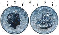Изображение Мелочь Новая Зеландия Острова Кука 1 доллар 2016 Серебро UNC