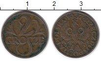Изображение Монеты Польша 2 гроша 1937 Бронза XF