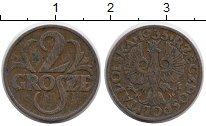 Изображение Монеты Польша 2 гроша 1935 Бронза XF