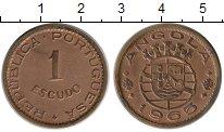 Изображение Монеты Ангола 1 эскудо 1965 Бронза XF
