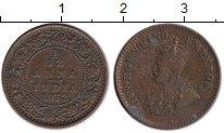 Изображение Монеты Индия 1/12 анны 1932 Бронза XF