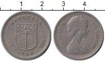 Изображение Монеты Великобритания Родезия 10 центов 1964 Медно-никель XF