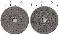 Изображение Монеты Великобритания Родезия 1 пенни 1941 Медно-никель XF-