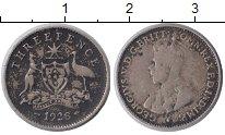 Изображение Монеты Австралия 3 пенса 1928 Серебро VF