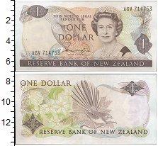 Изображение Банкноты Новая Зеландия 1 доллар 0  UNC