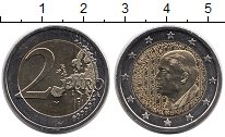 Монета Греция 2 евро Биметалл 2016 UNC- фото