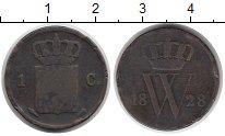 Изображение Монеты Нидерланды 1 цент 1828 Медь VF