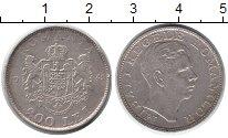 Изображение Монеты Румыния 200 лей 1944 Серебро XF