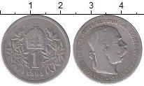 Изображение Монеты Австрия 1 крона 1895 Серебро VF