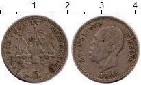 Изображение Монеты Гаити 5 сентим 1904 Медно-никель VF