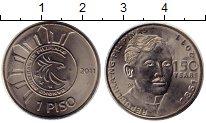 Изображение Монеты Филиппины 1 песо 2011 Медно-никель UNC-