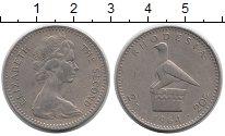 Изображение Монеты Родезия 20 центов 1964 Медно-никель XF
