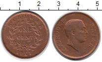 Изображение Монеты Малайзия Саравак 1 цент 1927 Бронза VF