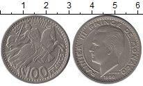 Монета Монако 100 франков Медно-никель 1950 XF фото
