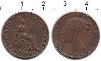 Изображение Монеты Великобритания 1 фартинг 1839 Медь XF-
