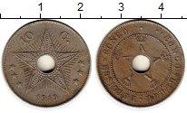 Изображение Монеты Бельгия Бельгийское Конго 10 сантим 1919 Медно-никель XF