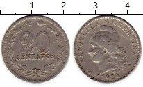 Изображение Монеты Аргентина 20 сентаво 1924 Медно-никель XF