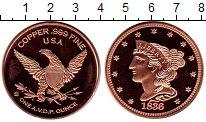 Изображение Мелочь США 1 унция 0 Медь Proof-