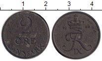 Изображение Монеты Дания 2 эре 1966 Цинк XF