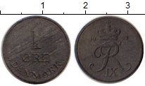 Изображение Монеты Дания 1 эре 1953 Цинк XF