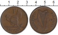 Изображение Монеты Ирландия 1 пенни 1928 Бронза XF