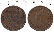 Изображение Монеты Великобритания Остров Джерси 1/12 шиллинга 1923 Бронза XF