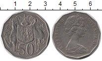 Изображение Монеты Австралия 50 центов 1984 Медно-никель XF