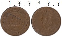Изображение Монеты Австралия 1 пенни 1922 Бронза XF