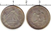 Изображение Монеты Мексика 10 сентаво 1906 Серебро XF