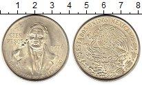 Изображение Монеты Мексика 100 песо 1978 Серебро UNC-