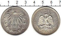 Изображение Монеты Мексика 1 песо 1940 Серебро XF+