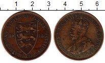 Изображение Монеты Великобритания Остров Джерси 1/12 шиллинга 1913 Бронза XF