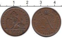 Изображение Монеты Бельгия 2 сантима 1919 Бронза XF