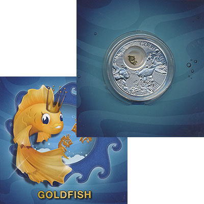 Изображение Подарочные монеты Ниуэ 2 доллара 2013 Серебро Proof `Елизавета II. Позол