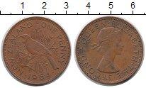 Изображение Монеты Новая Зеландия 1 пенни 1964 Медь XF