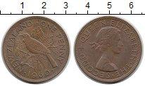 Изображение Монеты Новая Зеландия 1 пенни 1960 Медь XF