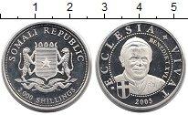 Изображение Монеты Сомали 2000 шиллингов 2005 Серебро UNC