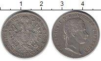 Изображение Монеты Австрия 1/4 флорина 1857 Серебро XF